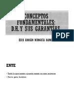 01.- Conceptos Fundamentales Derechos Humanos 10.08.2017