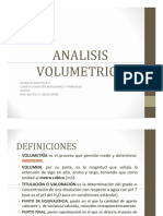 analisis volumetrico