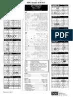 2018-19 final bps calendar