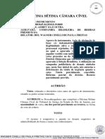 Acórdão - CBF e Ambev x Proibida - Uso de Uniforme Similar Ao Da Seleção Em Propaganda