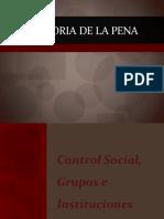 Modulo II Historia de La Pena - Control Social, Grupos e Instituciones