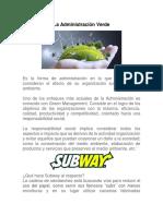 La Administración Verde