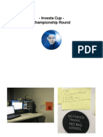 Investagram Champion 2017 Presentation