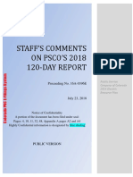 Staff Comments on PSCo 120-Day Report -PUBLIC_Redacted