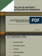 1. El Convenio CITES