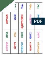 Domino Silabas Simples e Aumentativo