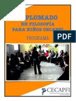 Diplomado en filosofía para niños