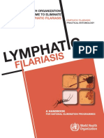 GLOBAL PROGRAMME TO ELIMINATE LYMPHATIC FILARIASIS