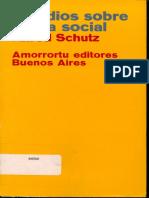 Estudios Sobre Teoria Social Alfred Schutz