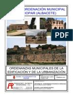 Ordenanzas municipales Riopar
