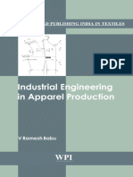 [Woodhead Publishing India in Textilies] v. Ramesh Babu - Industrial Engineering in Apparel Production (2012, Woodhead Publishing)