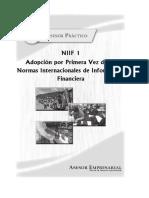 09 NIIF 1.- Adopcion Por Primera Vez