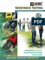 Ground resistance testing