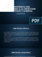Resistencia Del Organismo a La Infección