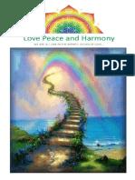 (26) -1-31 Ağustos 2010 - Love Peace and Harmony Journal