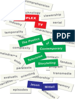 Complex TV the Poetics of Contemporary Television Storytelling
