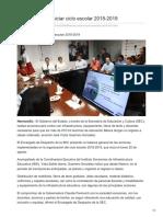 13-08-2018 Lista SEC Para Iniciar Ciclo Escolar 2018-2019- Uniradionoticias