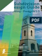 4 Subdivision Design Guide Feilding - Precincts 1-3