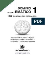 Dominio Matemático 1