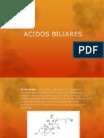 ACIDOS BILIARES