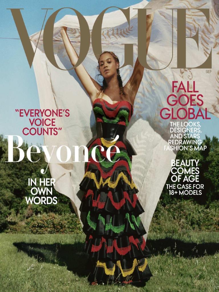 921359dfd8da Vogue USA September 2018 | Vogue (Magazine) | Fashion