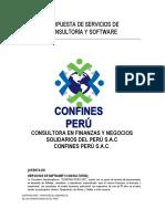 Propuesta de Software Confines Perú Sac - Coopac