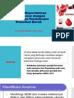Asuhan Keperawatan Pada Pasien Dengan Anemia Dan Tatalaksana