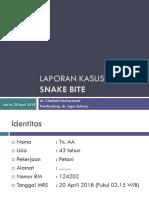 Laporan Kasus_Snake Bite Chaca