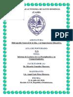 Informe Lectura (4) La Precipitación y Su Comportamiento Por Región Hidrográfica