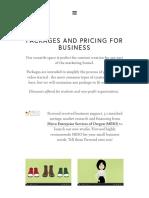 Pricing Firwood Studios