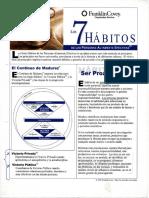Resumen de Los 7 Habitos de Las Personas Altamente Efectivas