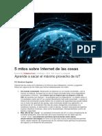 Articulo 5 mitos sobre Internet de las cosas.pdf