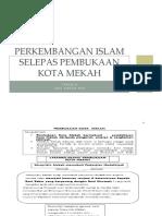 PERKEMBANGAN ISLAM SELEPAS PEMBUKAAN KOTA MEKAH tahun 6.pptx