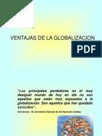 Ventajas de la Globalizacion