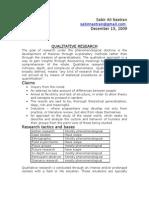 24123037 Sabir Ali Qualitative Research Methods