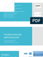 Fundamentos de administración. HFAM_U3_EA_ISLA.
