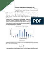 procedimiento para ajuste de la distribución normal a la precipitación de una estación