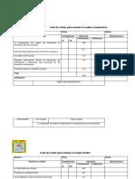 Lista de Cotejo y Rubricas Para Evaluar