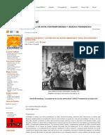 HAROLD ROSENBERG. _LOS PINTORES DE ACCIÓN AMERICANOS_ (1952). PRESENTACIÓN Y TRADUCCIÓN. _ Escáner Cultural.pdf