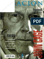 CAGE, John - Dossier Revista Creación