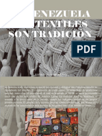 Atahualpa Fernández Arbulu - En Venezuela Los Textiles Son Tradición