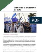 Sinpermiso-nicaragua Examen de La Situacion El 8 de Agosto de 2018-2018!08!12