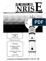 The Muslim Sunrise_1991_iss_1