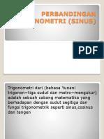Perbandingan Trigonometri (Sinus)