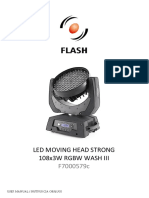 f7000579c Led Glowica Ruchoma Strong 108x3w Rgbw Wash III