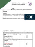 Programa de Asignaturas UTP Civil