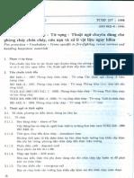TCXD 217 - 1998 Phong chay chua chay - Tu vung - Thuat ngu chuyen dung cho phong chay chua chay, cuu nan va xu li vat lieu nguy hiem.pdf