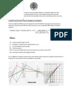 AASHTO Equation for Flexible Pavement.