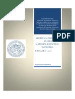Cuadernillo Inglés 2017 Derecho UBA - Unidad 1 a 3