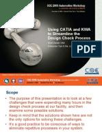 202_AUTO_Using CATIA and KWA to Streamline the Design Check Process